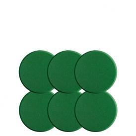 اسفنج پولیش متوسط سبز سوناکس بسته 6 عددی