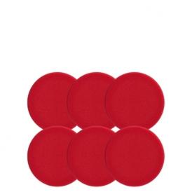 اسفنج پولیش زبر قرمز سوناکس بسته 6 عددی