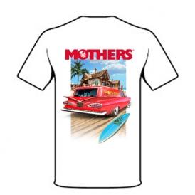 تی شرت سفید L مادرز