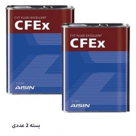 روغن گیربکس CVT - CFEx آیسین 4 لیتری بسته 2 عددی